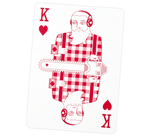 Playing Card - King of Hearts
